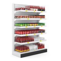 Supermarket Shelf 09