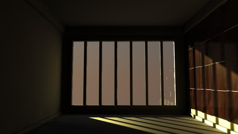 room 3d c4d