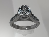 ring render diamond ma
