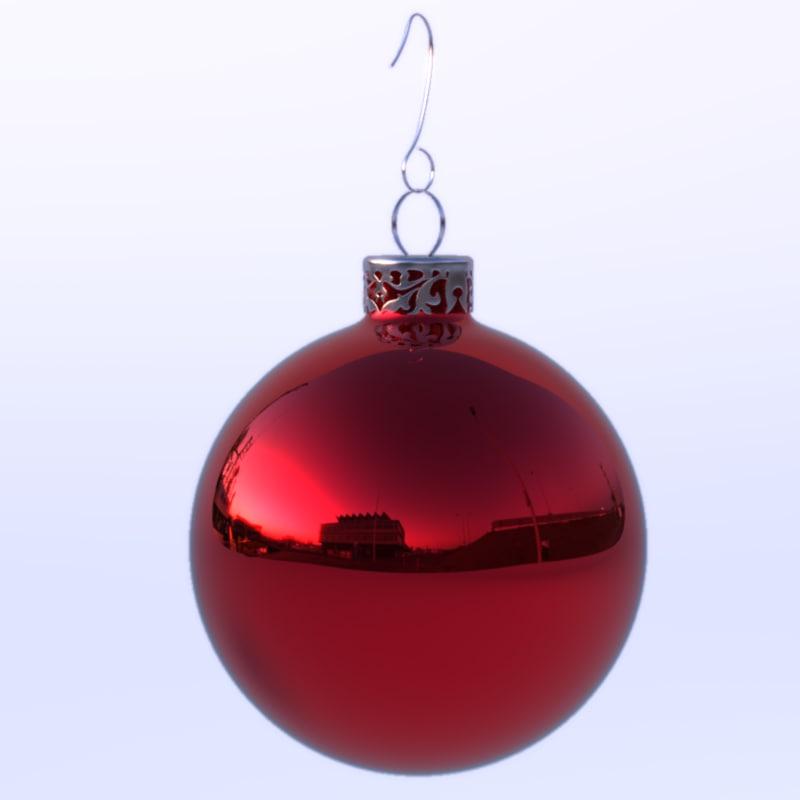3dsmax christmas ball