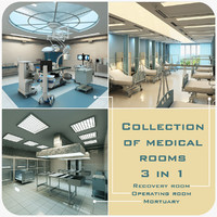 Collection Of Medical Rooms