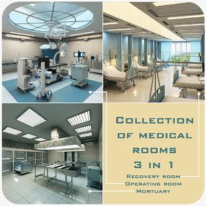 3d model medical rooms