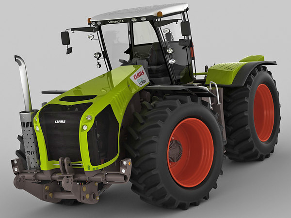 claas xerion tractor 3d 3ds