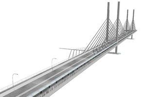 3d eleanor schonnell bridge model