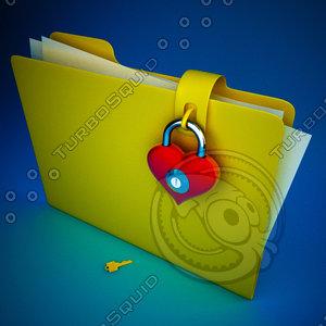 3d model folder