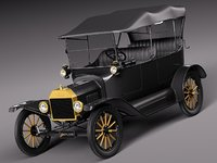Ford Model T convertible long 1908-1927