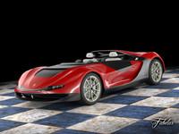 ferrari sergio concept 3d model