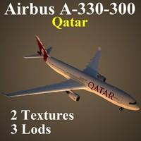 max airbus qatar qtr