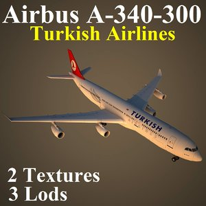 airbus thy 3d max