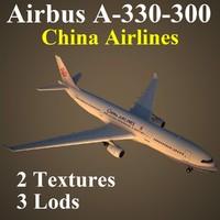 airbus cal 3d model