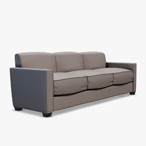 manhattan sofa 3d obj