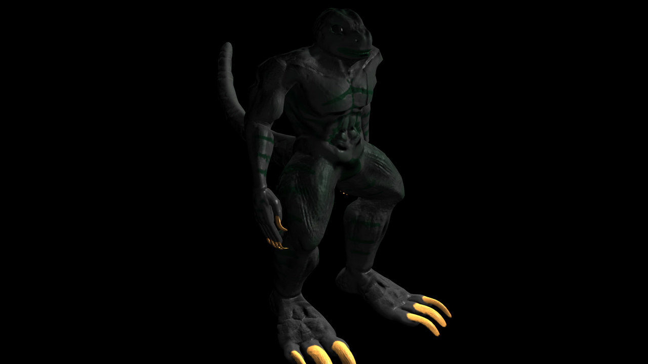 lizard man humanoid ma