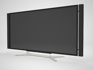 tv sony kd-x9005 3d model