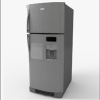 3d model of wt8907a refrigerator