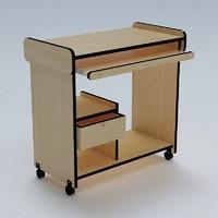 computer table 3d model