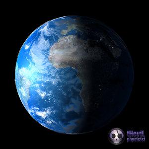 3d 3ds materials earth