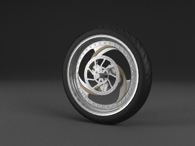 tires motorbike obj free