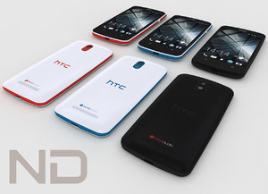 3d model htc desire 500