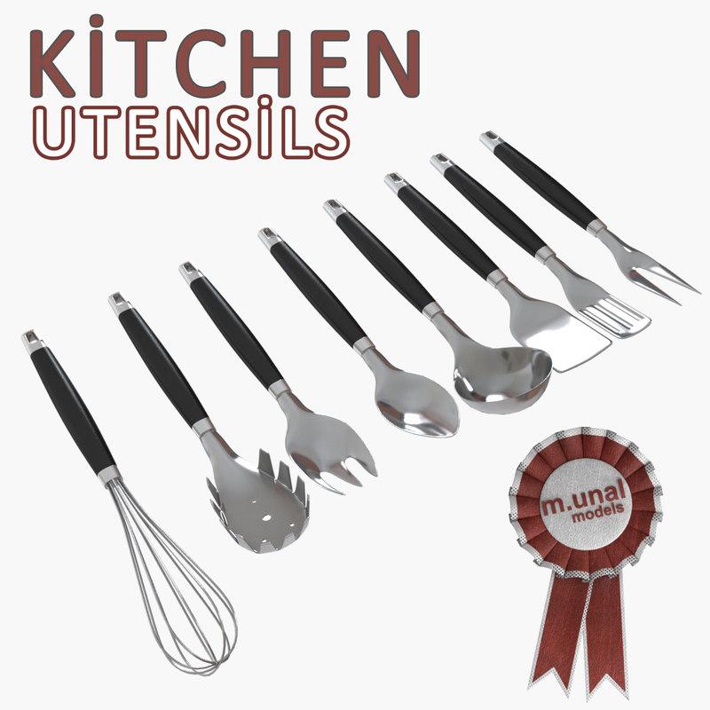 kitchen utensil 3d model