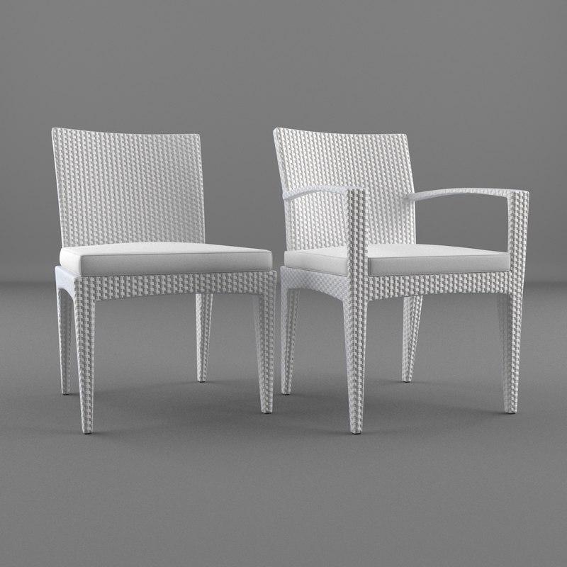 3dsmax lounge furniture chair panama
