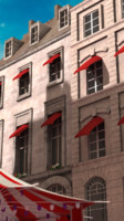 3d obj parisian buildings