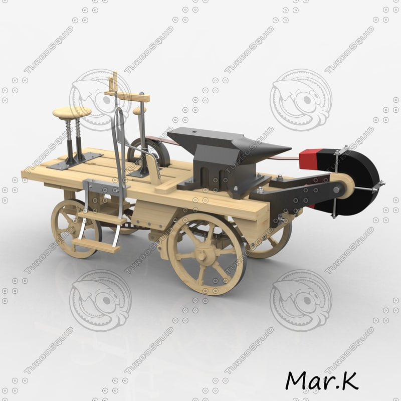 crazy magnet car c4d