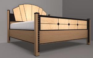 bed mattress obj