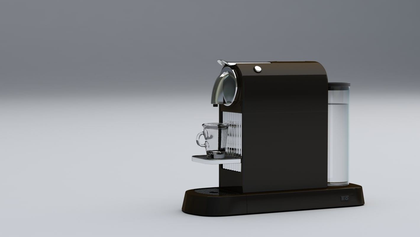 nespresso citiz 3d model