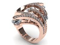 Unique Precius Diamond Ring