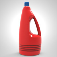 bottle detergent obj