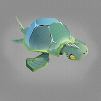 3d model character turtle 2011