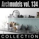 3d model archmodels vol 134