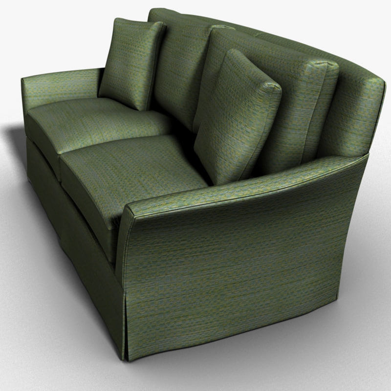 apartment sofa 3d model