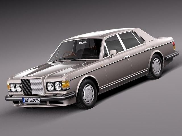 classic antique 1988 turbo 3d c4d