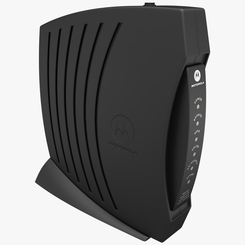 3ds max cable modem motorola surfboard
