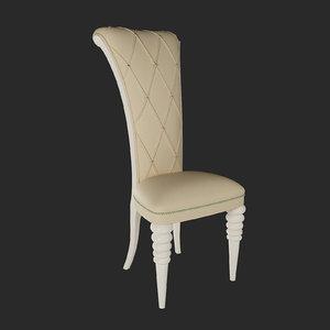 3d model altamoda italia chair