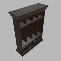 Four Bin Entry Locker
