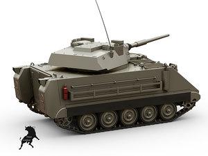 3d m-113 hmvs model