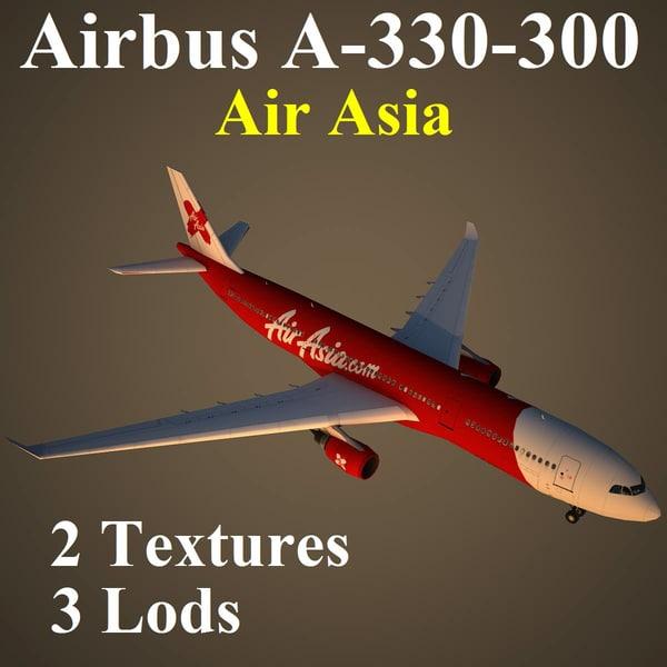 3d model airbus xax