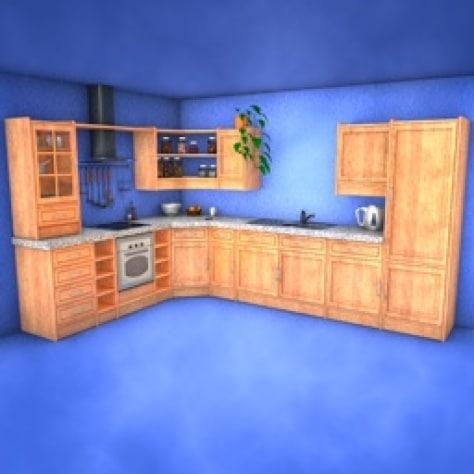 c4d bathroom kitchen
