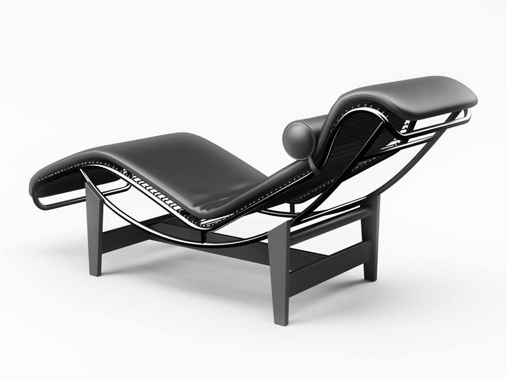 chaise le corbusier chaise le corbusier with chaise le corbusier latest le corbusier chaise lc. Black Bedroom Furniture Sets. Home Design Ideas