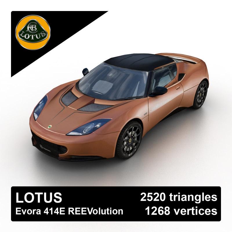 3d 2012 evora 414e reevolution model