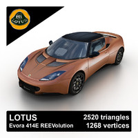 Lotus Evora 414E REEVolution 2012