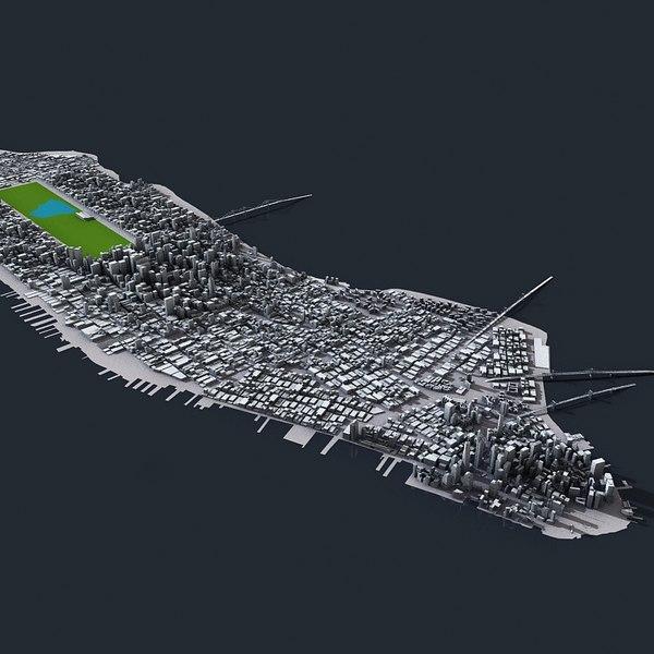 3d model new york city