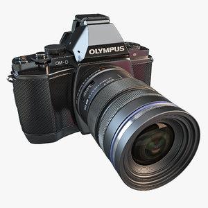 olympus om-d e-m5 16mp 3d model