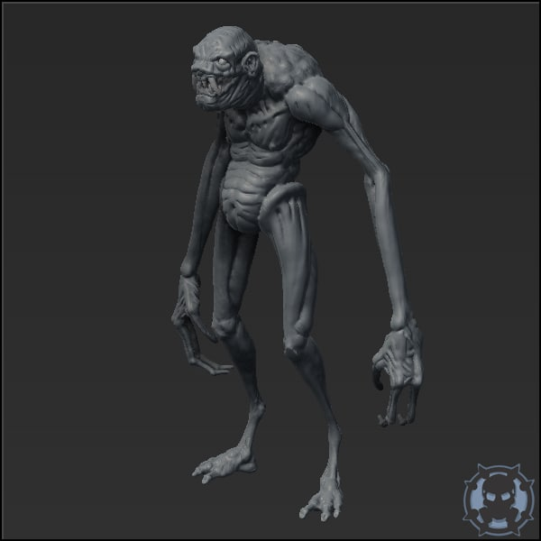 maya horror monster