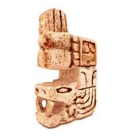 3d model mayan figure replica