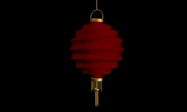 chinese lantern 3ds