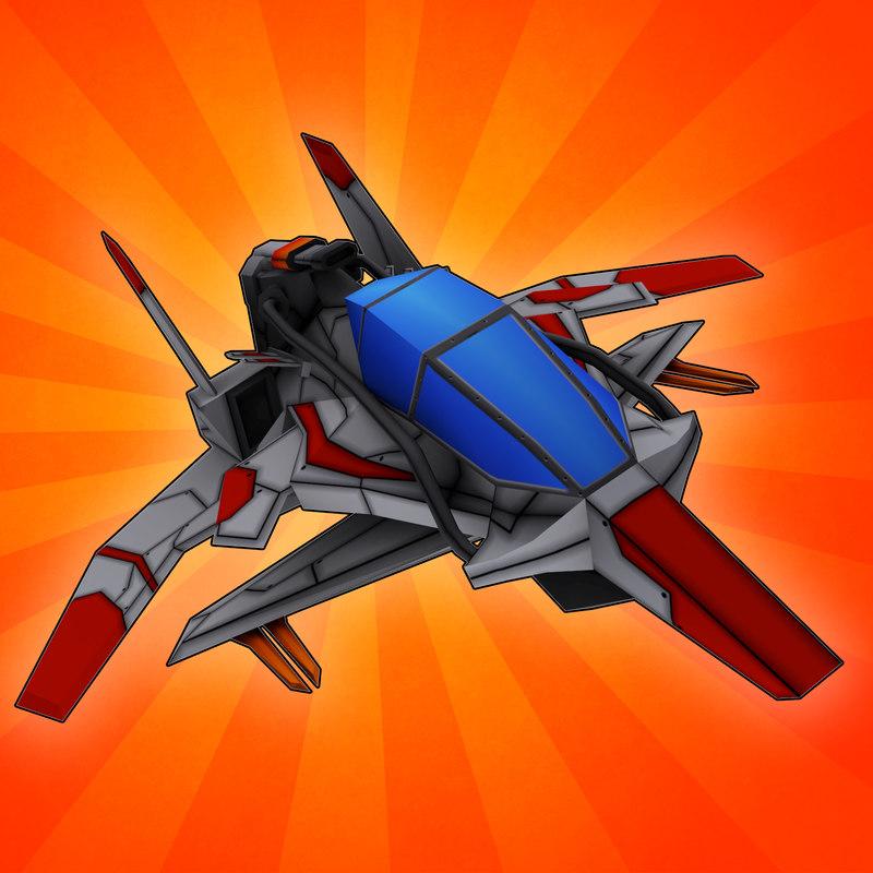 fi space fighter 3d ma