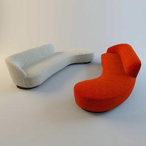 max sloane 2 sofas